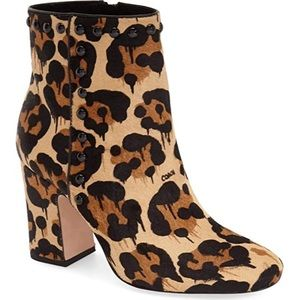 Coach Felicia Wild Beast Ankle Booties